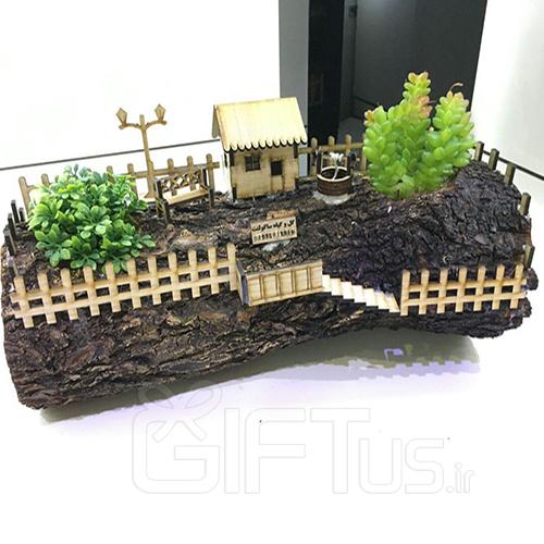 تنه چوبی زندگی جاودانه  